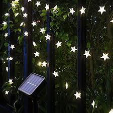 Xingpold Solar Star String Lights Outdoor Waterproof Solar Powered Christmas Twinkle Fairy String Lights 23ft 50led 8modes Solar Lights Outdoor String For Garden Landscap Lawn Patio Fence Warm White Walmart Com Walmart Com