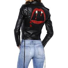 blood er leather jacket
