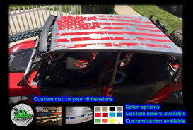 How To Remove Vinyl Stickers From Car Distressed American Flag 4 Seat Utv Rzr Truck Car Roof Decal Color Options Equalmarriagefl Vinyl From How To Remove Vinyl Stickers From Car Pictures