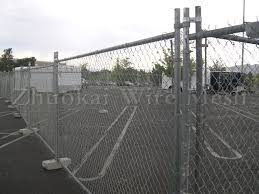 Characteristics Of Temporary Chain Link Fence