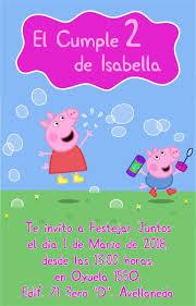 20 Invitaciones Infantiles Peppa La Granja Unicornio Mickey