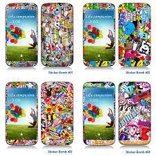 Skin Decal Sticker For Iphone Galaxy Universal Mobile Phone Sticker Bomb Design Ebay