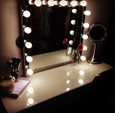 lighting for your makeup mirror