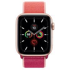 Apple Watch Series 5 GPS, 44mm Gold ...