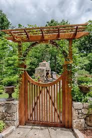 garden gate arbors designs garden