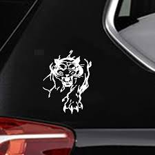 Amazon Com Dkisee Mighty Tiger Cover The Scratch Decal Car Sticker Car Styling Car Sticker Car Decal 6 Inch Vinyl Decal For Car Bumper Truck Window Walls Laptop Sticker Kitchen Dining
