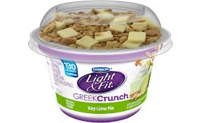 dannon adds crunch to light fit