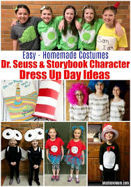 homemade dr seuss costumes storybook