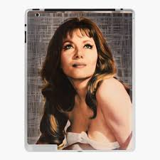 "Ingrid Pitt, Vintage Actress"" iPad Case & Skin by SerpentFilms 