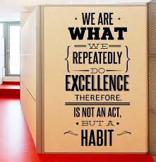 Office Wall Sticker Inspiration Quote We Are What Wall Decal Removable Studio Vinyl Wall Sticker Office Wall Art Poster Ay064