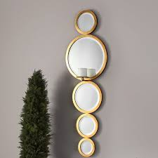 mirrored candle sconces wayfair