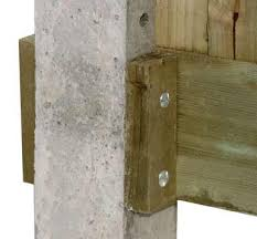 Fitting A Gravel Board To Timber Or Concrete Fence Posts Diy Doctor