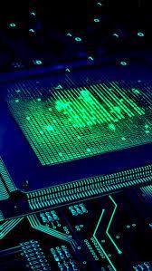 chipset circuit digital art 8k
