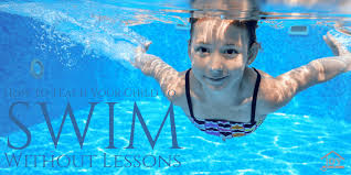 teach your child to swim without lessons
