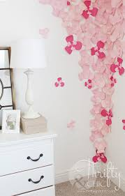 3d flower wall art for the nursery