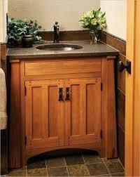 craftsman bathroom cabinets in 2020