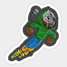 Mf Doom Stickers Teepublic