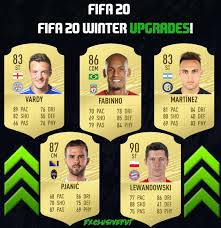 Added by @exclusivefut Instagram post FIFA 20 WINTER UPGRADE ...