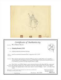 auction.howardlowery.com: Disney SLEEPING BEAUTY Marc Davis Scene Animator  Extreme Drawing of AURORA as Briar Rose, 1959