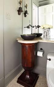 wood pedestal sink everything you