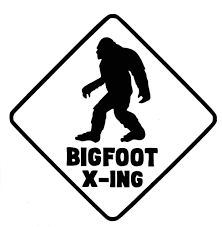 Amazon Com Custom Bigfoot Decal Sasquatch Sticker For Laptops Cooler Or Car Windows Crossing Sign Design Pick Size And Color Handmade