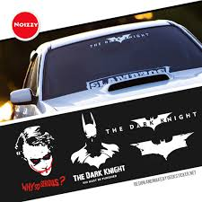 Noizzy Batman The Dark Knight Return Ho Car Sticker Auto Decal Vinyl Reflective White Automobile Body Window Tuning Car Styling Car Styling Auto Decalsstyle Vinyl Aliexpress