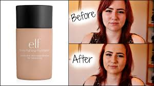 elf makeup foundation reviews