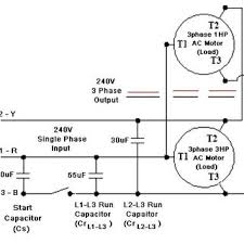 design of single phase to three phase