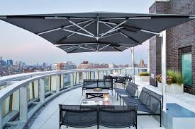 new york rooftop deck contemporary with