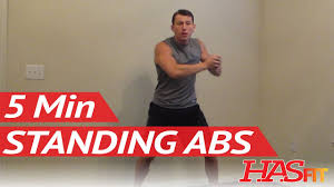hasfit 5 minute standing abs workout