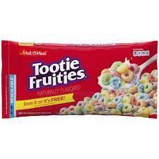 malt o meal breakfast cereal tootie