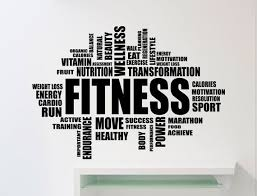 Fitness Motivation Word Cloud Wall Sticker Gym Quote Sports Training Place Vinyl Decal Home Room Interior Decor High Quality Mural 98gy Fitness Words Gym Mirrors Motivation Wall