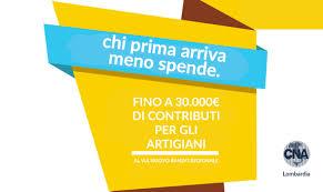 Finanziamenti a fondo perduto per artigiani fino a 30.000,00 euro