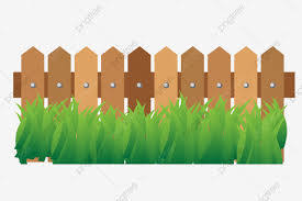 Cartoon Garden Green Plant Illustration Garden Green Plants Fence Png And Vector With Transparent Background For Free Download