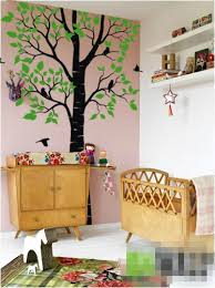 Waliicorners Individual Design Large Nature Tree Wall Decal With Birds Vinyl Wall Stickers For Kids Room Waterproof Large Tree Wall Art D977 Waliicorner S Store