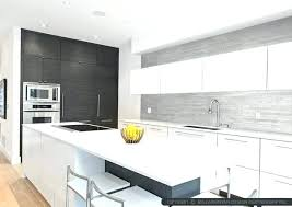 black white and grey kitchen gray and