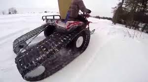 homemade 3 wheeler track in action