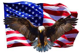 Soaring Bald Eagle American Flag Decal Nostalgia Decals Patriotic Vinyl Graphics Nostalgia Decals Online