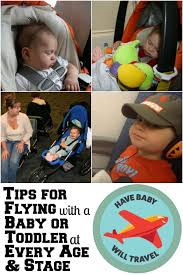 flying with an infant or toddler