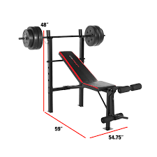 bo bench with 100 lb weight set