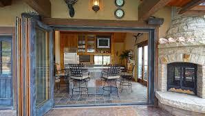 considering indoor outdoor fireplace