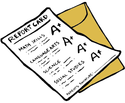 Image result for free clipart report card""