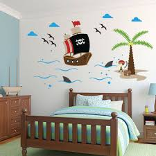 Pirates Wall Decal Ship Wall Decal Wall Sticker Kids Wall Etsy In 2020 Wall Decals Wall Stickers Kids Pirate Room