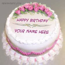birthday cake images with name and add