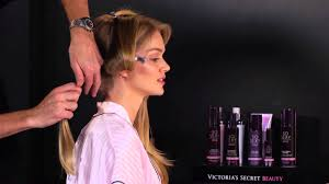 secret fashion show runway hair