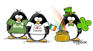 Image result for st. patrick's day penguin clipart