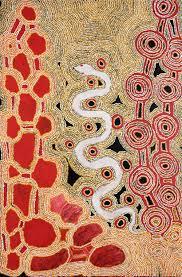 Byron Brooks - Kaanka - 137 x 90 cm - 18-145 (sold) — Art Aborigène  d'Australie - Aboriginal Signature Estrangin gallery
