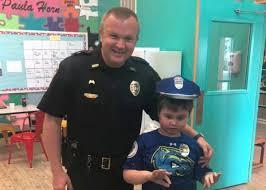 Sgt Adam Johnston Visits Jacob at Puzzle Pieces [VIDEO]