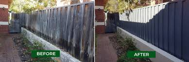 Wooden Fence Painting We Make Ugly Pinelap Fences Look Great