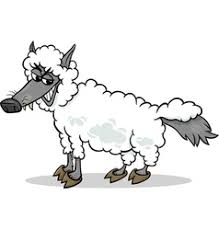 sheep in sheeps clothing vector images